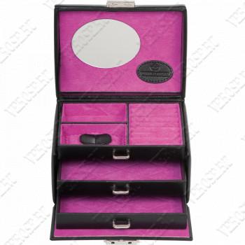 Шкатулка для украшений L.E. 33 Merino Moda pink 3676