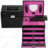 Шкатулка для украшений L.E. 33 Merino Moda pink 3696